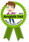 Angies List Super Service Award 2012 and 2011